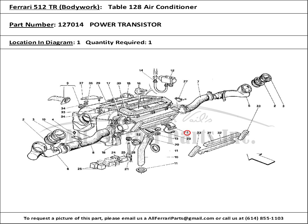 ferrari part number 127014 power transistor xbox usb adapter for wiring diagram