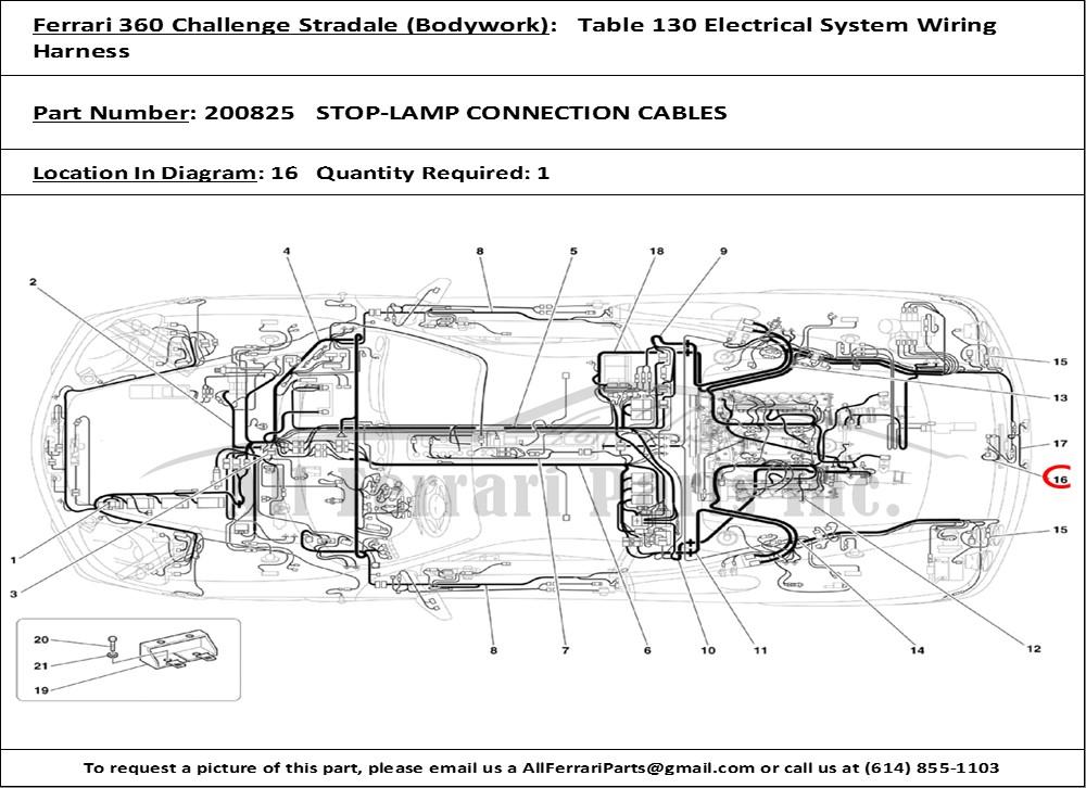 ferrari 360 wiring diagrams wiring diagram schematics