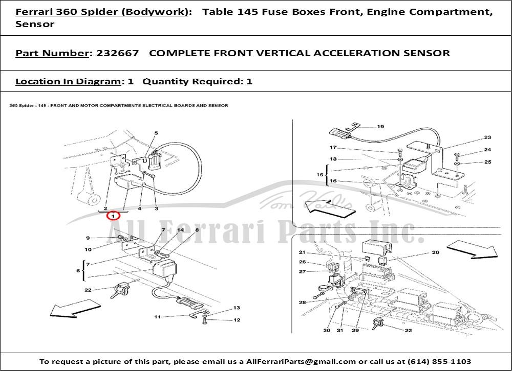 Ferrari Fuse Box Diagram on