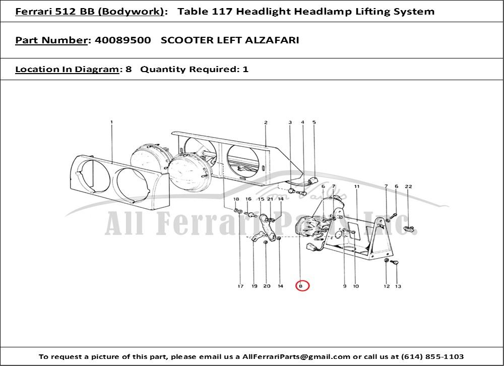 Product Description Ferrari 512 Tr Headlight Wiring Diagram At Freddryerco: Ferrari 250 Gt Coupe Wiring Diagram At Freddryer.co