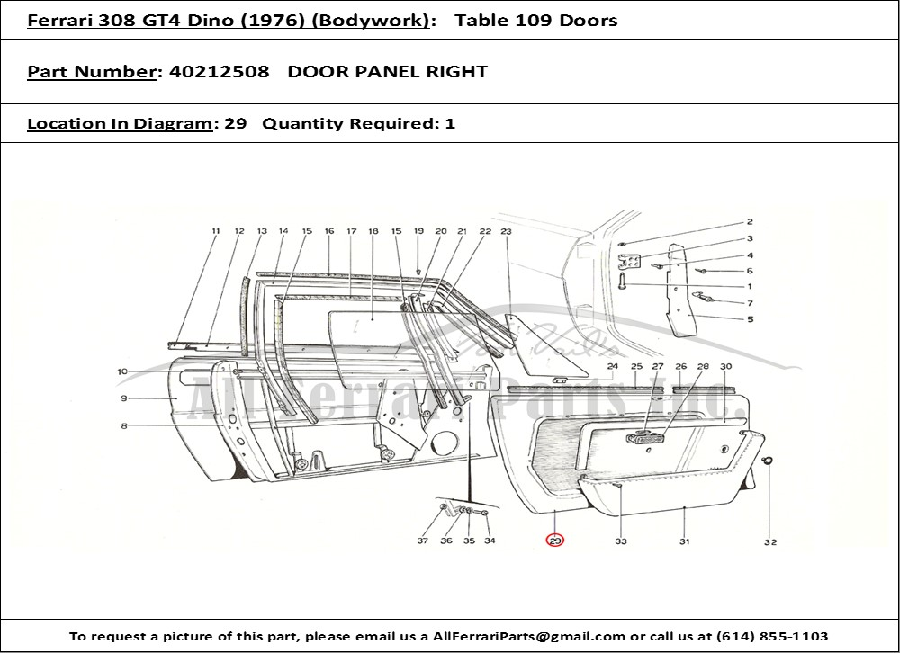 kubota zd21 parts diagram ferrari parts diagram ferrari part number 40212508 door panel right
