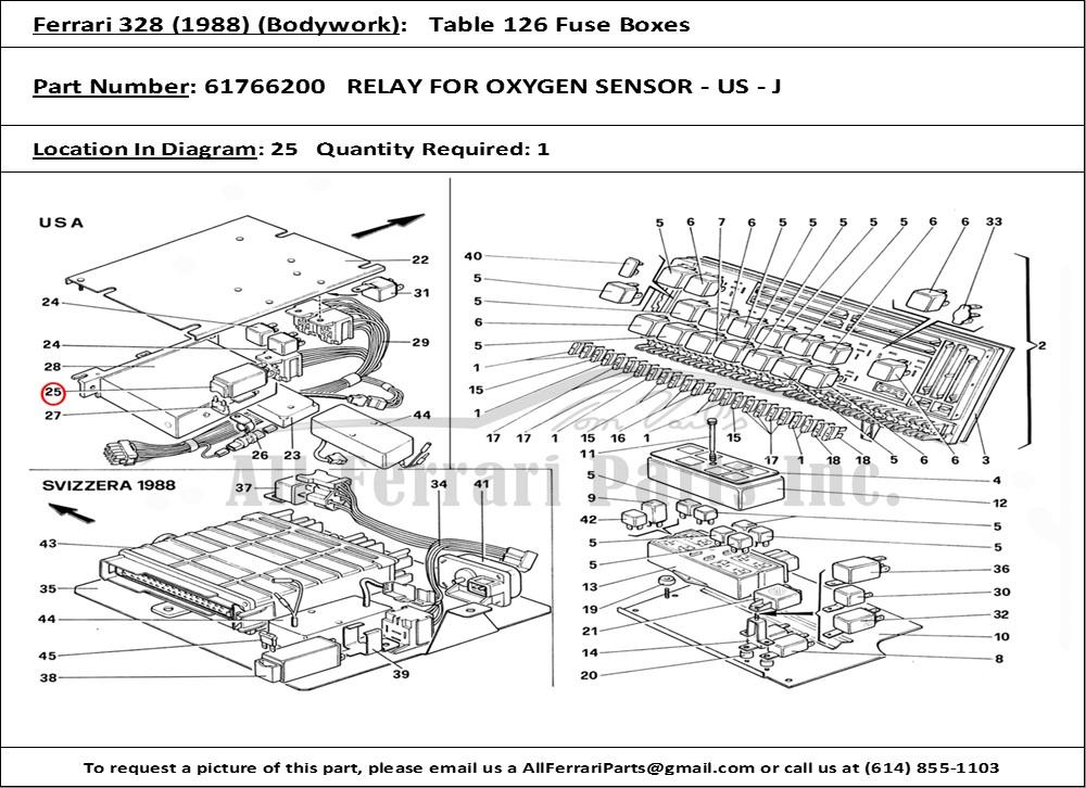 ferrari part number 61766200 relay for oxygen sensor us j VW Jetta O2 Sensor product description ferrari part number 61766200 relay for oxygen sensor