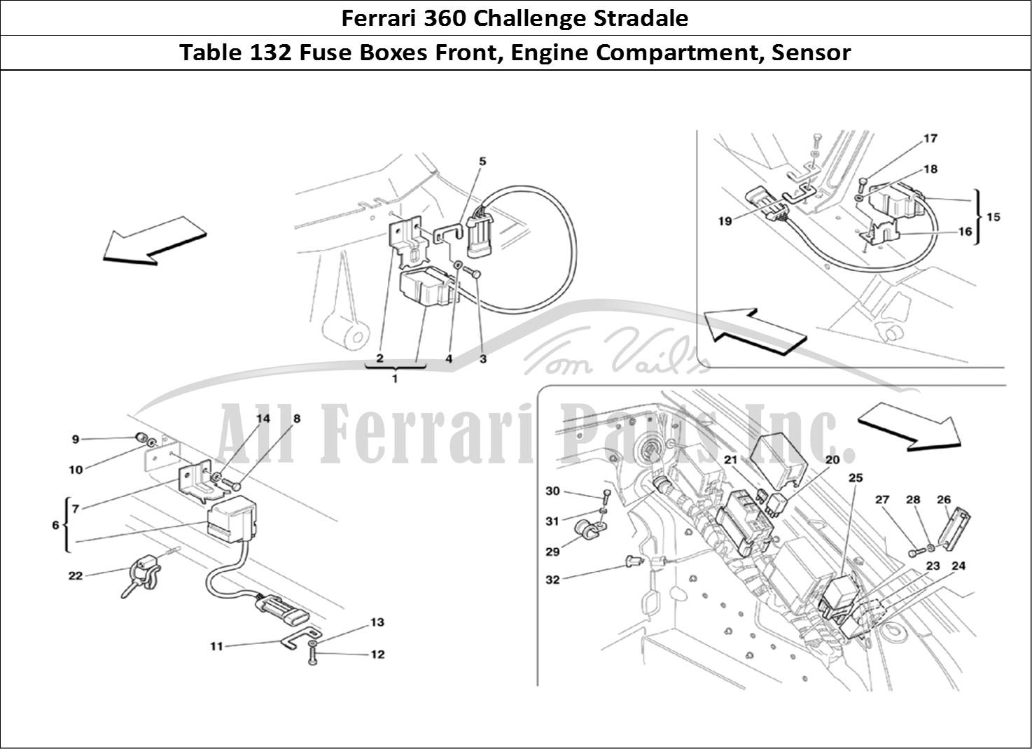 Buy Original Ferrari 360 Challenge Stradale 132 Fuse Boxes Front Engine Diagram Bodywork Table Compartment Sensor