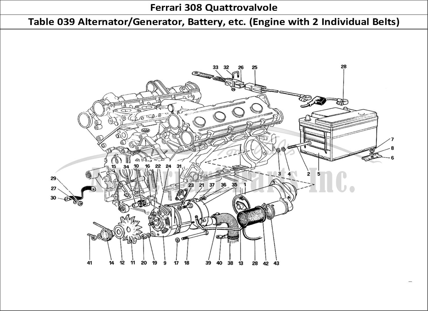 ferrari f12 engine diagram ferrari engine diagram buy original ferrari 308 quattrovalvole 039 alternator ... #3