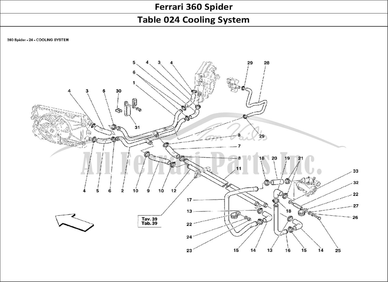 buy original ferrari 360 spider 024 cooling system ferrari parts  spares  accessories online