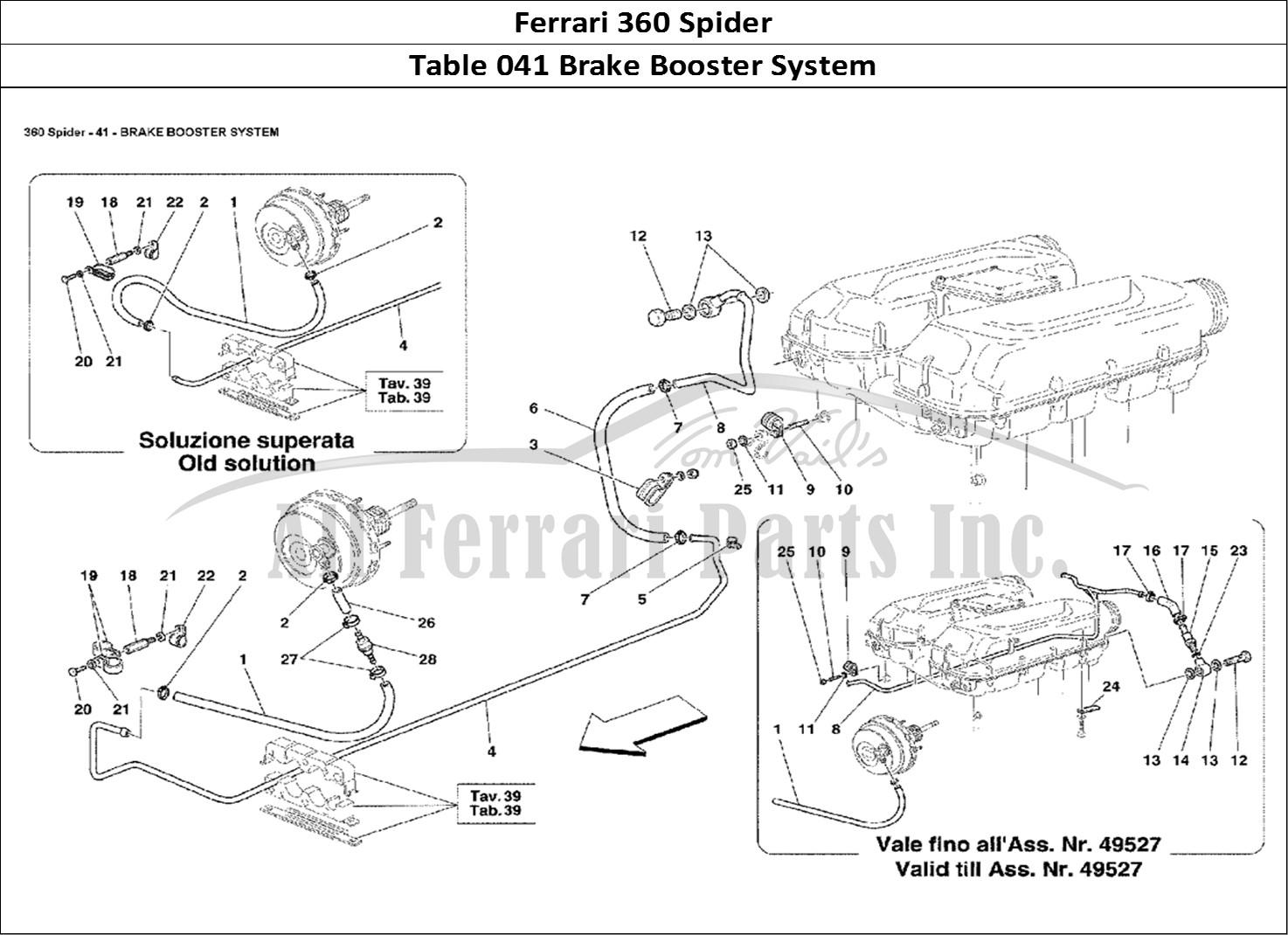 buy original ferrari 360 spider 041 brake booster system ferrari parts  spares  accessories online