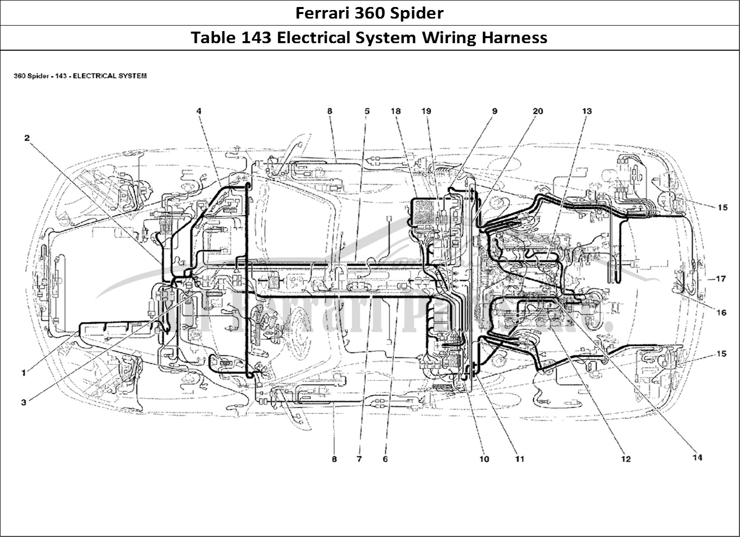 ferrari 328 engine diagram  ferrari  auto wiring diagram
