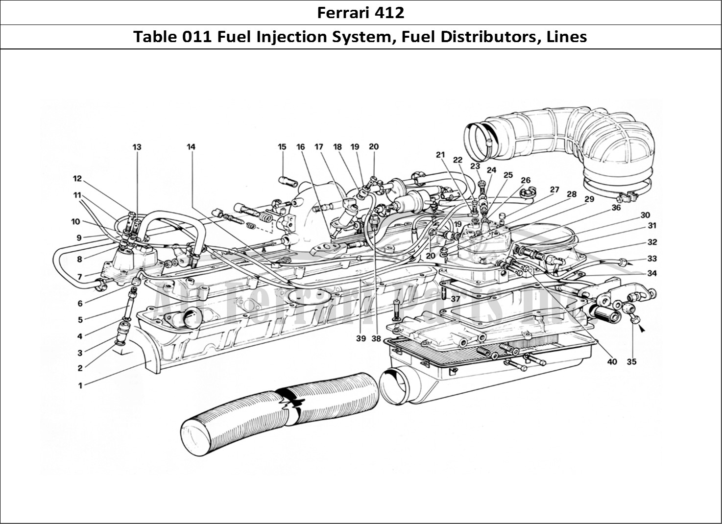 Fuel Injector Parts Diagram Motor Replacement Parts