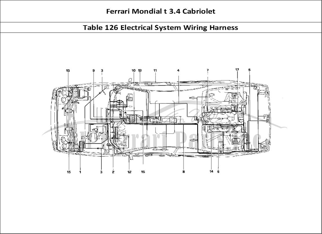 Buy Original Ferrari Mondial T 3 4 Cabriolet 126