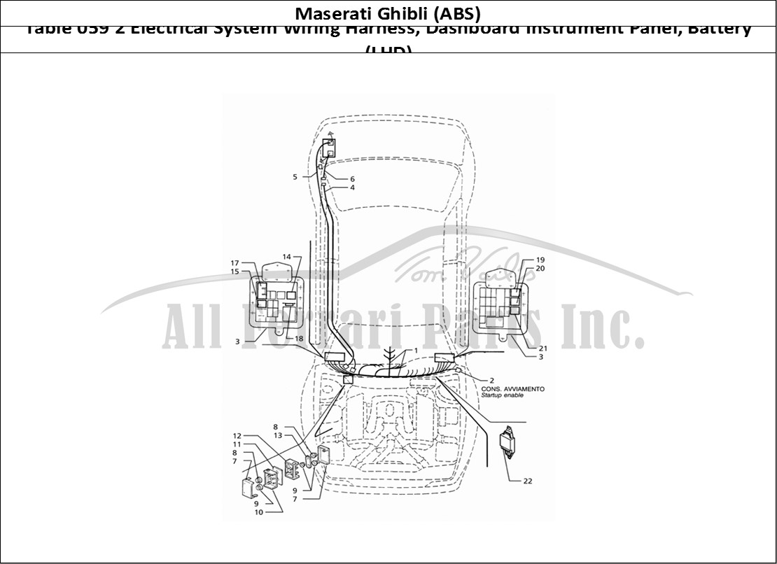 Ferrari Instrument Cluster Wiring Diagram on