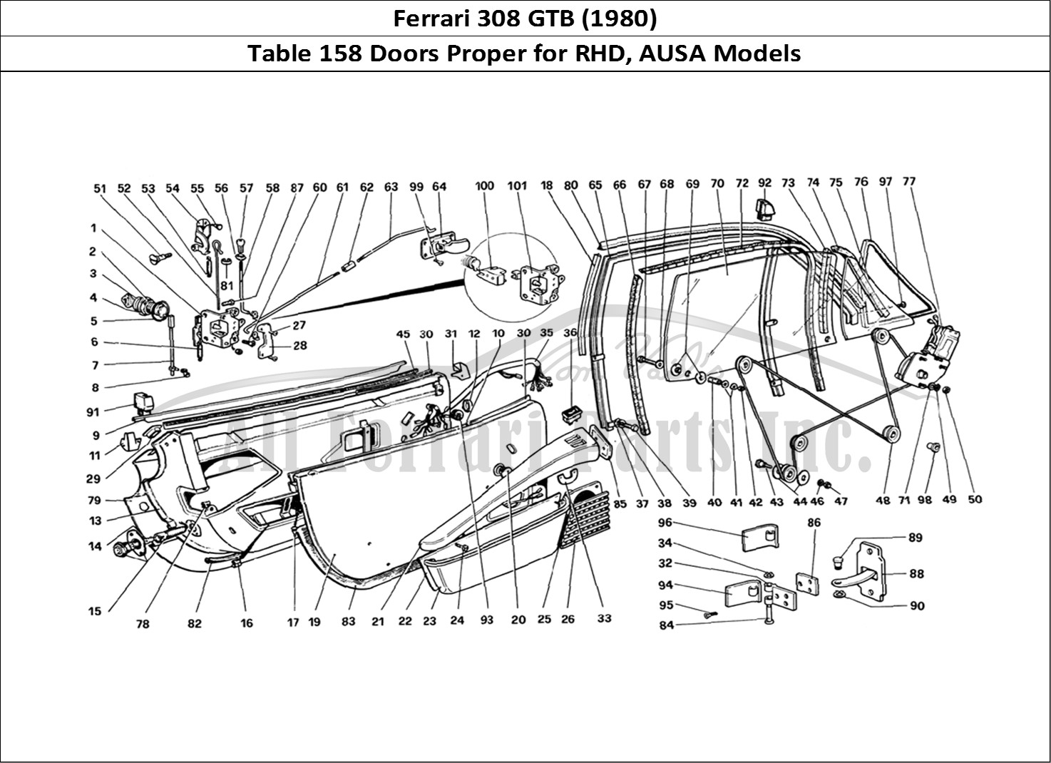 Ferrari Parts Diagram - Wiring Diagrams on ferrari 308 qv wiring, ferrari 308 gts,