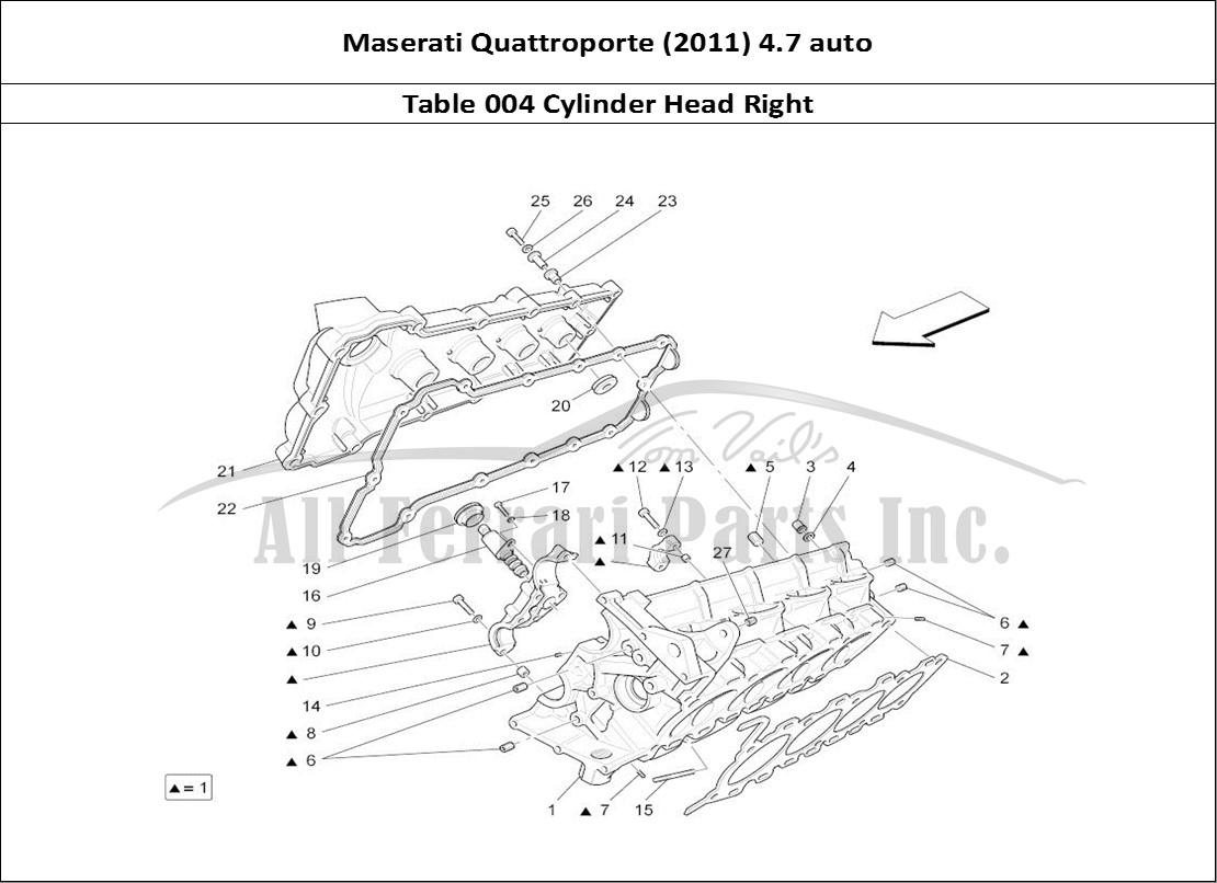 maserati fuse box diagram buy original maserati quattroporte (2011) 4.7 auto 004 ... maserati quattroporte engine diagram