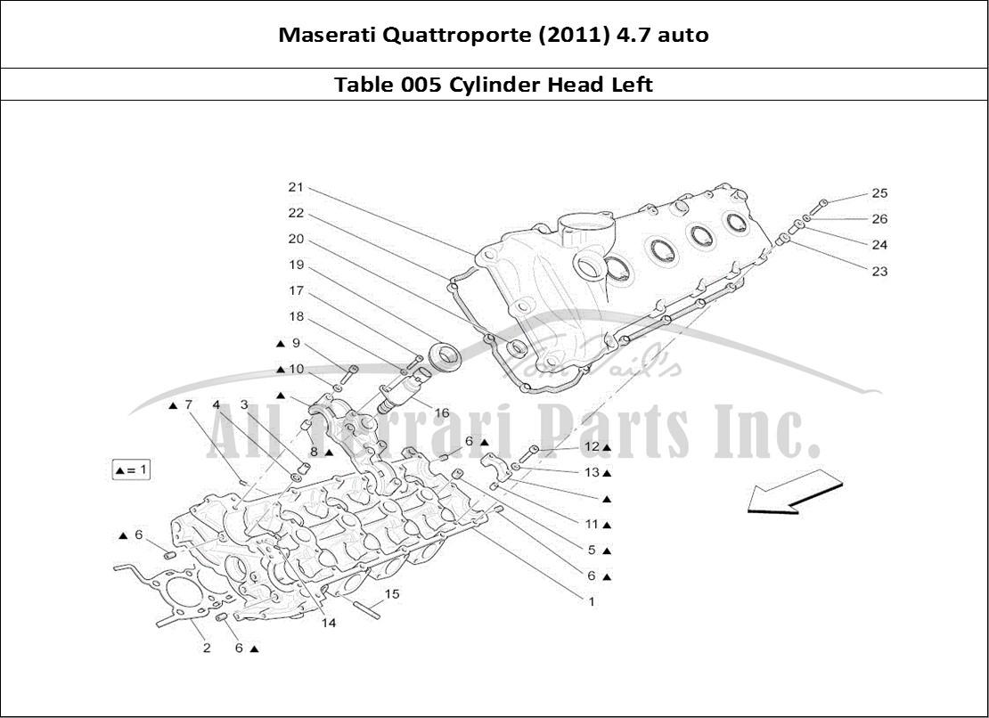 buy original maserati quattroporte (2011) 4.7 auto 005 ... maserati quattroporte engine diagram