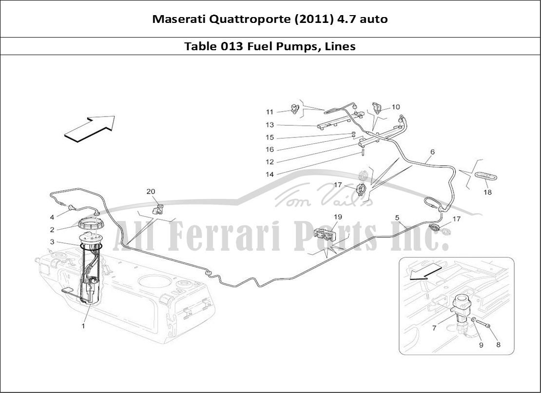 maserati biturbo wire diagram buy original maserati quattroporte (2011) 4.7 auto 013 ...