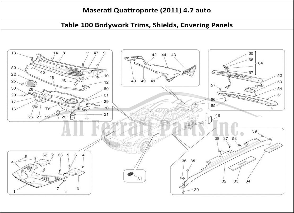 maserati quattroporte engine diagram rear engine diagram 3800 v6 engine buy original maserati quattroporte (2011) 4.7 auto 100 ...
