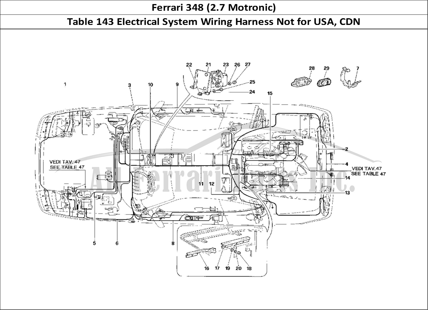 Buy Original Ferrari 348  2 7 Motronic  143 Electrical