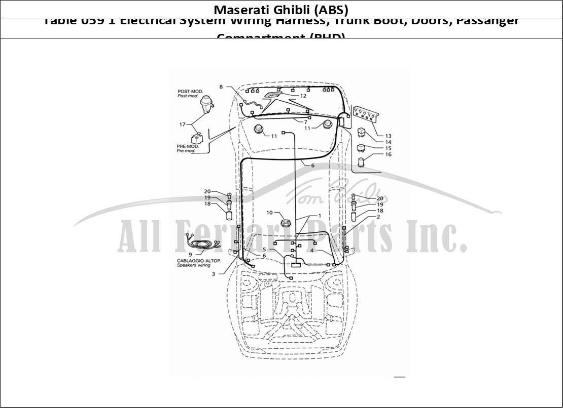 Buy Original Maserati Ghibli  Abs  059 1 Electrical System