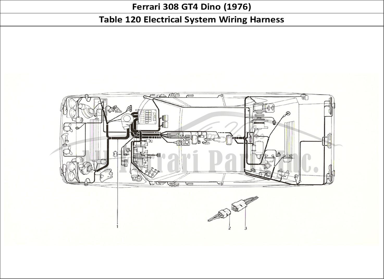 Buy Original Ferrari 308 Gt4 Dino  1976  120 Electrical