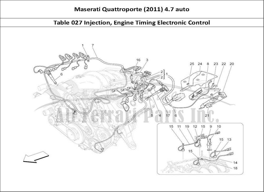 Buy Original Maserati Quattroporte  2011  4 7 Auto 027